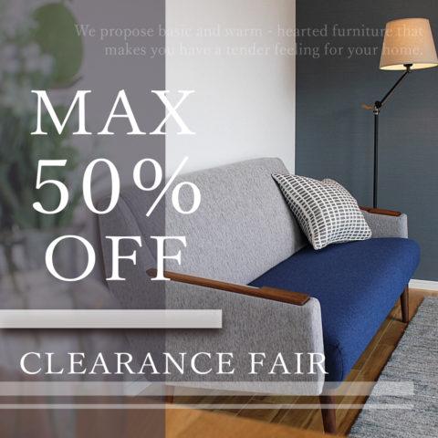 CLEARANCE FAIR MAX50% OFF !!