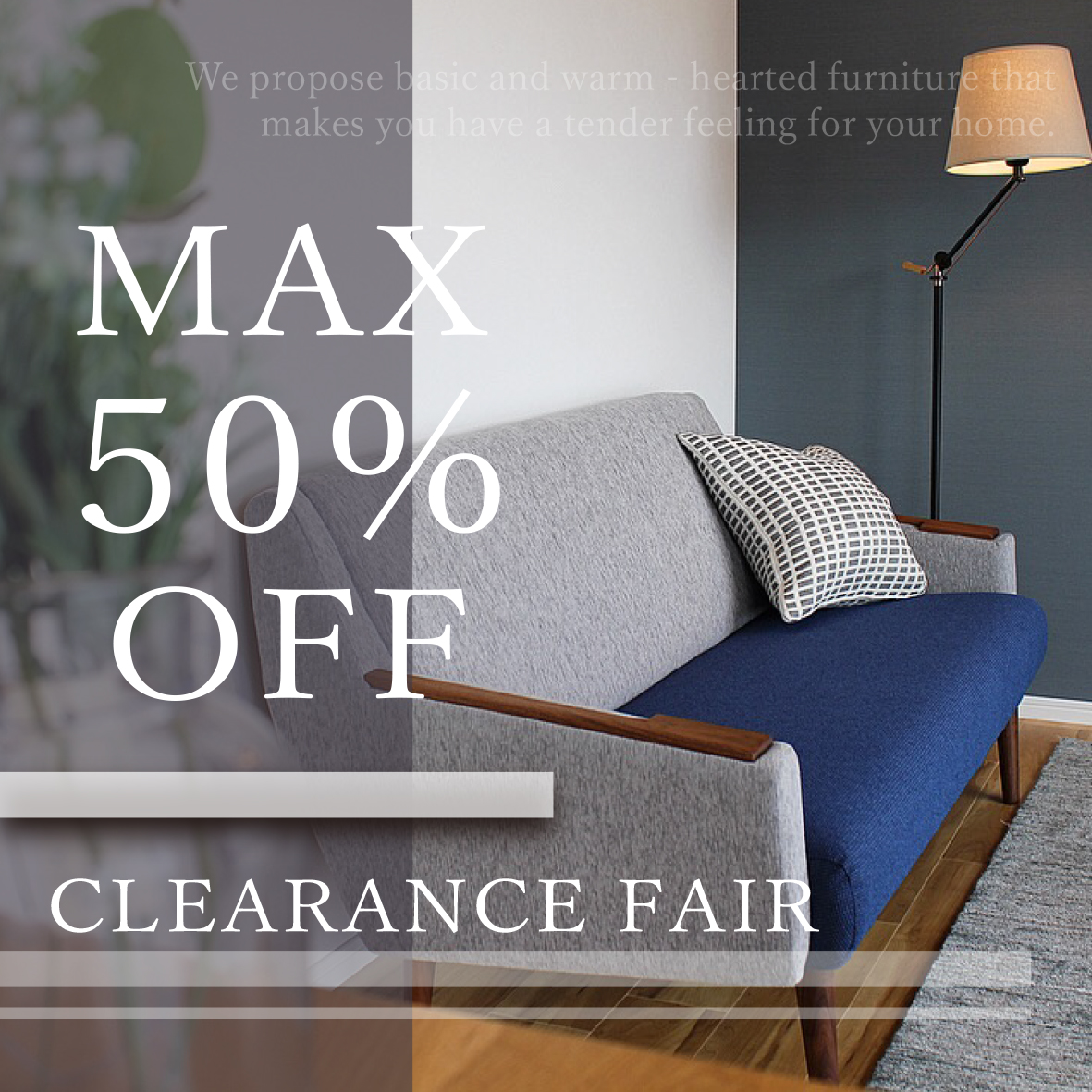 CLEARANCE FAIR MAX50% OFF !!
